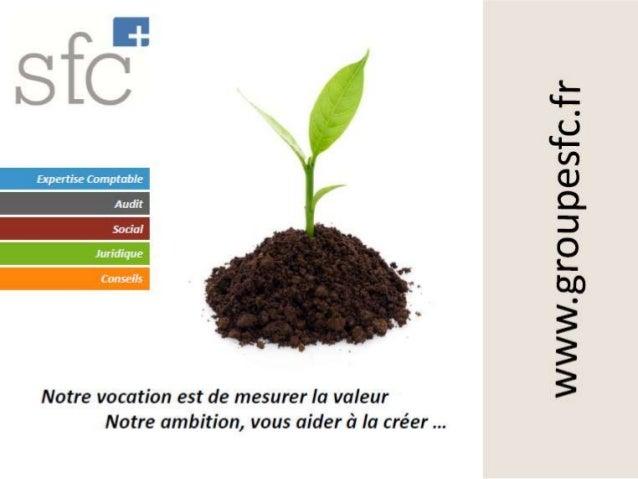 Présentation du groupe SFC, expertise comptable