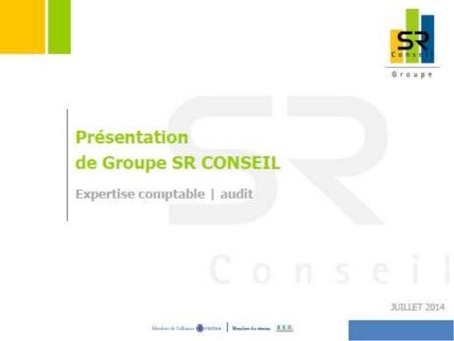 Présentation groupe SR Conseil 2014