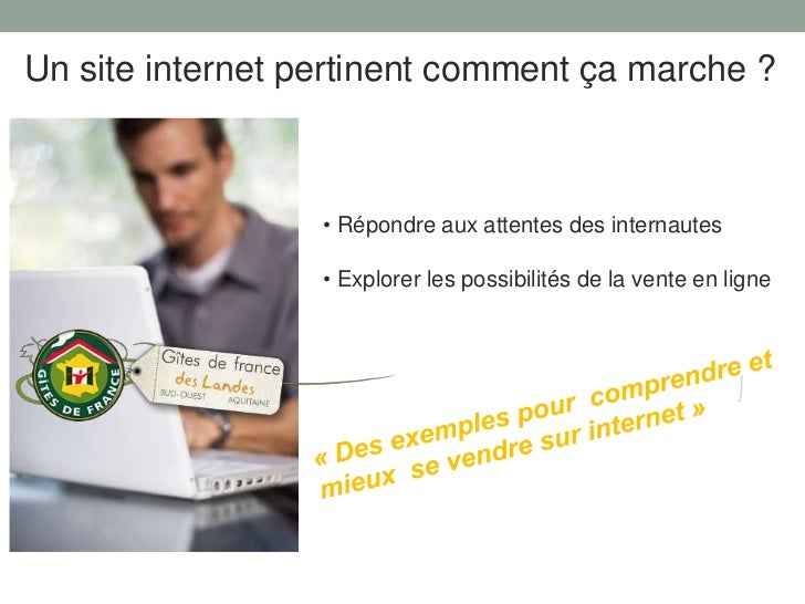 Présentation Gîtes de France Landes -   AG association terroir &tourisme -  8 mars 2011