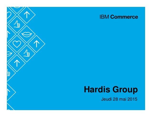Hardis Group Jeudi 28 mai 2015