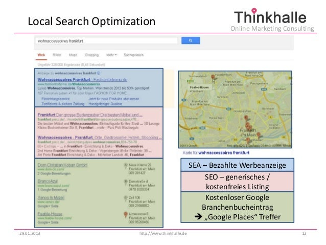 Local Search Optimization                                  Online Marketing Consulting                                    ...
