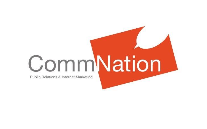 CommNation Public Relations & Internet Marketing