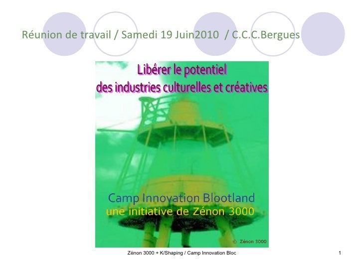 Réunion de travail / Samedi 19 Juin2010  / C.C.C.Bergues