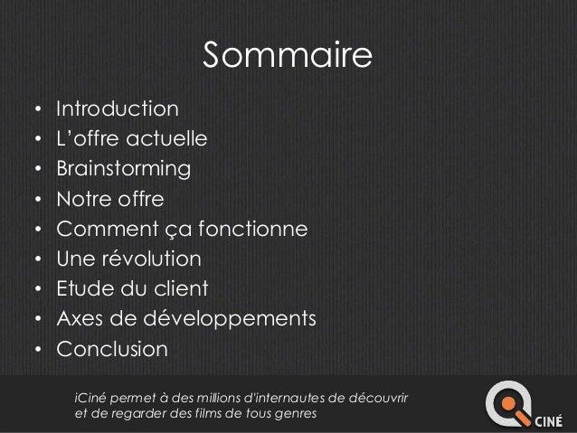 Présentation i ciné Slide 2