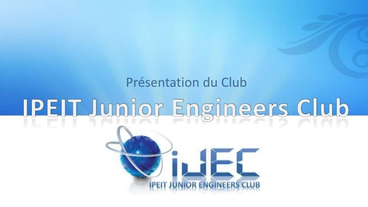 IPEIT Junior Engineers ClubLes activités du club