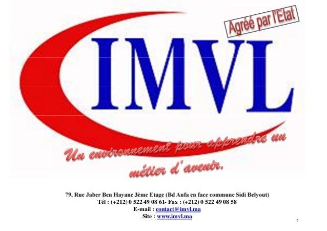 179, Rue Jaber Ben Hayane 3ème Etage (Bd Anfa en face commune Sidi Belyout)Tél : (+212) 0 522 49 08 61- Fax : (+212) 0 522...
