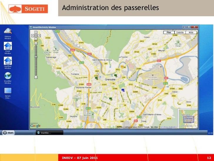 Administration des passerellesINEOV – 07 juin 2011             12