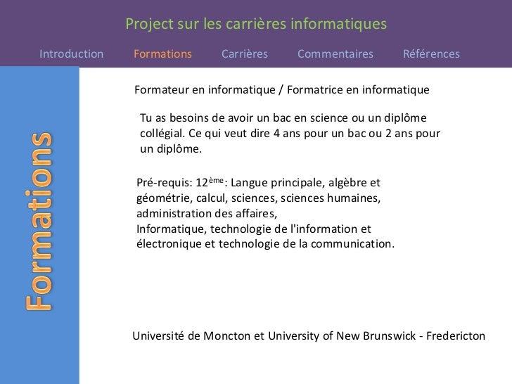 Présentation informatiques Slide 3