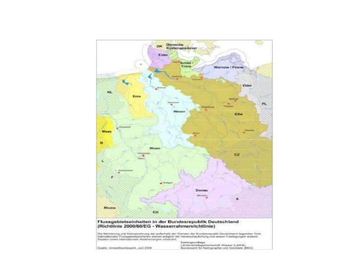 Niederschlags- und Wasserbilanz der Bundesrepublik