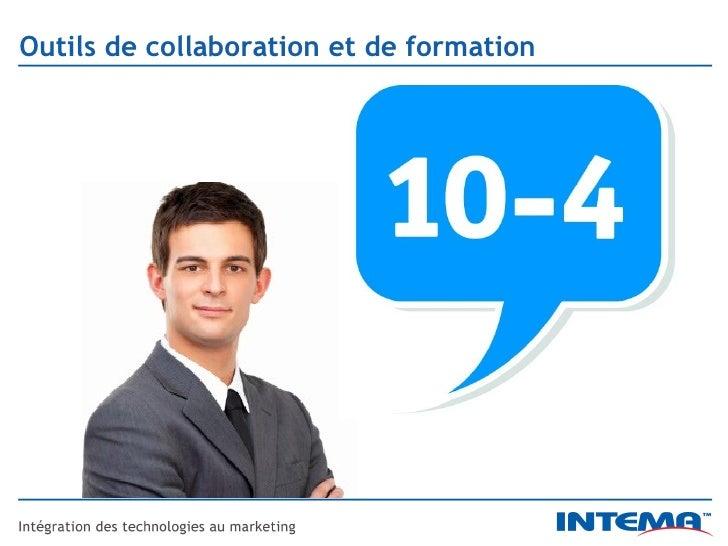 Outils de collaboration et de formation