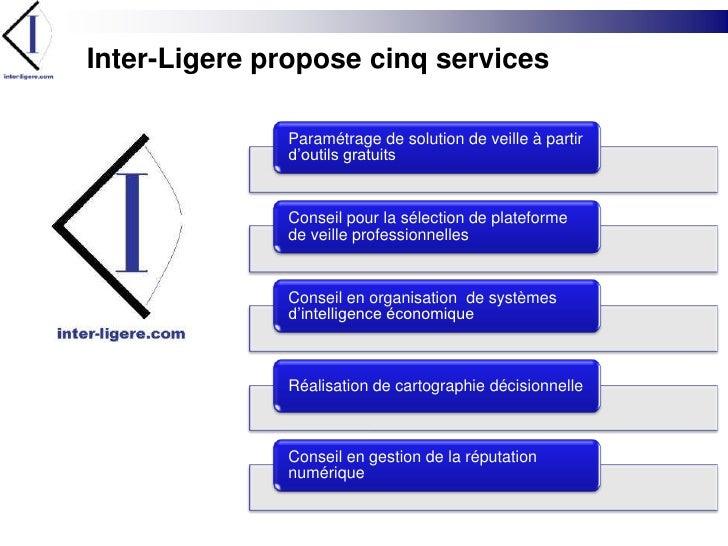 Inter-Ligere propose cinq services<br />