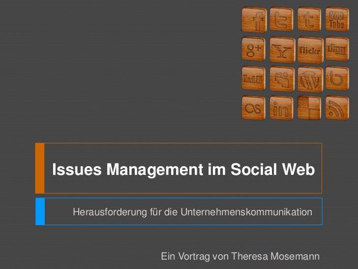 Issues Management als Herausforderung der Unternehmenskommunikation Slide 2