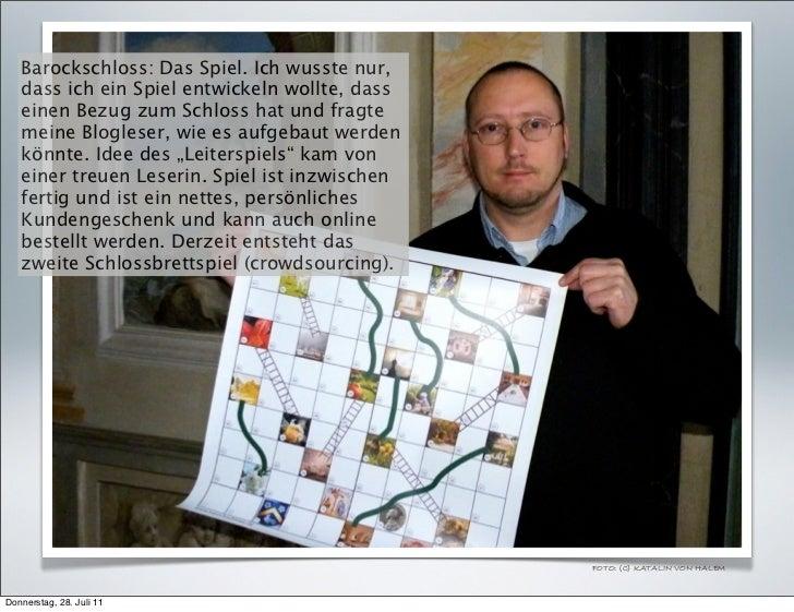 Barockschloss: Das Spiel. Ich wusste nur,   dass ich ein Spiel entwickeln wollte, dass   einen Bezug zum Schloss hat und f...