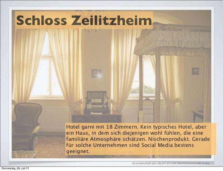 Schloss Zeilitzheim                          Hotel garni mit 18 Zimmern. Kein typisches Hotel, aber                       ...