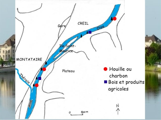 CREILMONTATAIREPlateauGareIle Saint-MauriceOiseThérainHouilleBois et produitsagricolesProduits de lamétallurgie