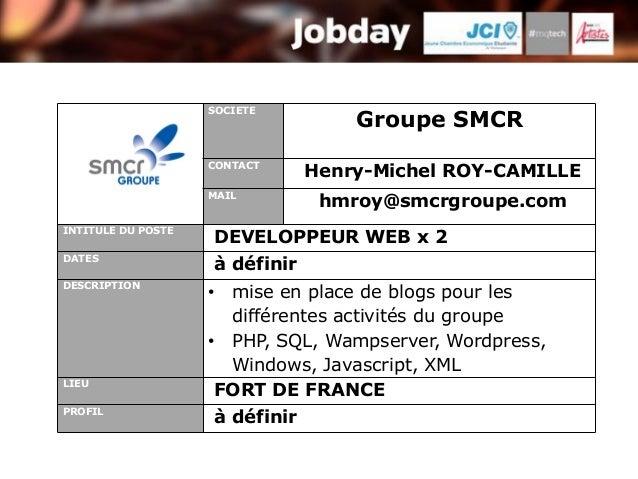 SOCIETE                                    Groupe SMCR                    CONTACT                                Henry-Mic...