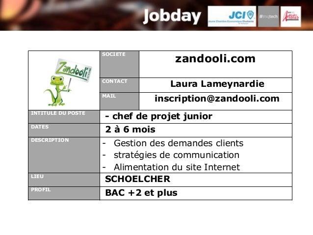 SOCIETE                                    zandooli.com                    CONTACT                                  Laura ...