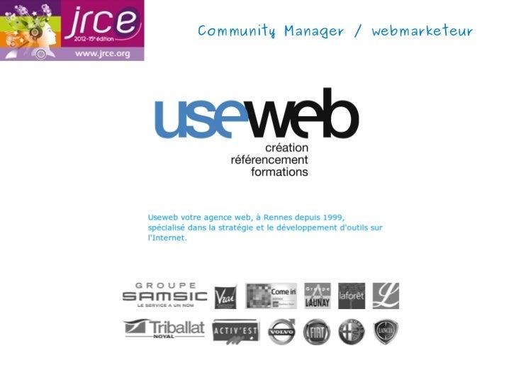 Community Manager / webmarketeur