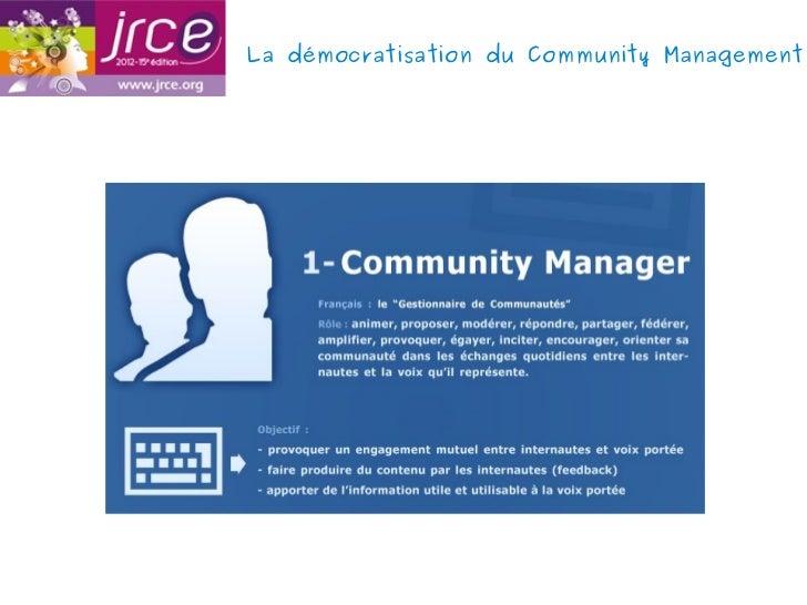 La démocratisation du Community Management