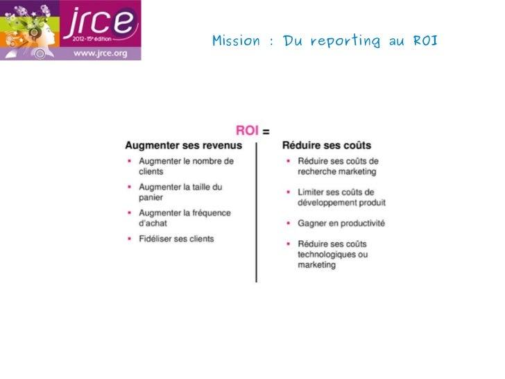 Mission: Du reporting au ROI