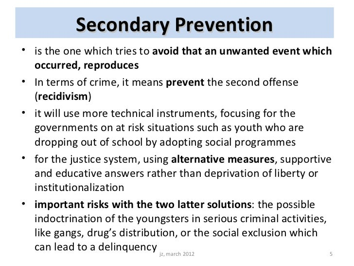 reducing juvenile delinquency Typically, juvenile delinquency follows a trajectory similar to that of normal  and  reduces the likelihood of youth becoming serious and violent offenders this in.