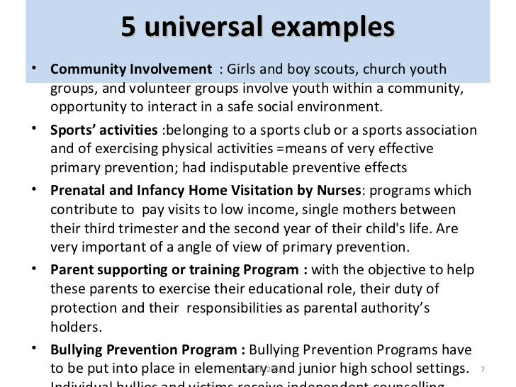 Good Practices In Juvenile Delinquency S Prevention In