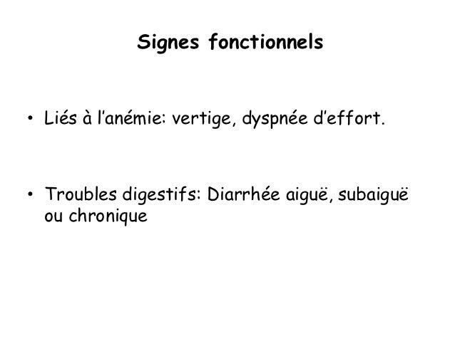 Biologie :• Les examens d'orientation :• Anomalies hématologiques à la FNS• Anémie fréquente, modérée au début, s'aggrave ...