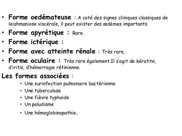 DEUXIEME VOLET        Traitement spécifique  • ANTIMONIES PENTAVALENTS :  L'antimoniate de N méthyle glucamine   (Glucant...
