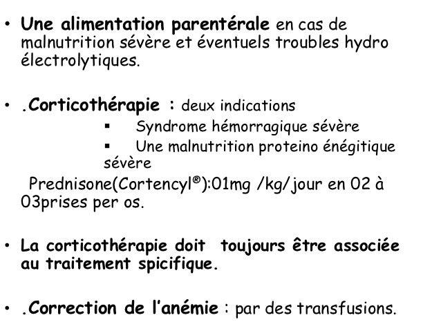 Signes stibio intoxication    surviennent en fin de cure et traduisent un surdosage•   Hyperthermie•   Polynévrites•   Mmy...