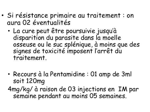 • Séquelles• Graves (rares) :   • Hypersplénisme nécessitant parfois splénectomie   • Cirrhose (Kala-azar)• Bénignes     :...