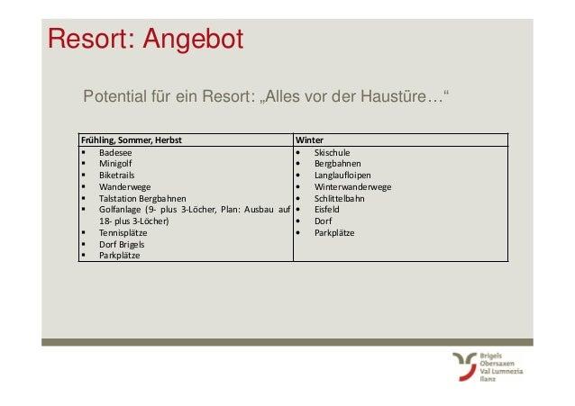 """Resort: Angebot Potential für ein Resort: """"Alles vor der Haustüre…"""" Frühling, Sommer, Herbst Winter Badesee Minigolf Biket..."""