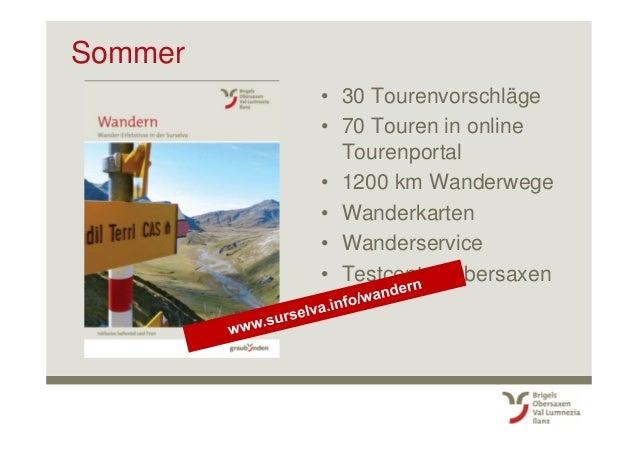 Weitere grössere Veranstaltungen • 1. August Nationalfeiertag (Brigels) – Freitag (!) • Konzert Kammerphilharmonie Graubün...