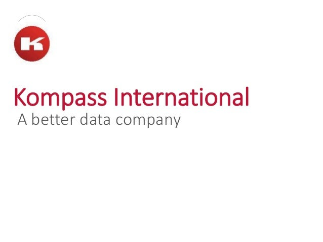 Kompass International A better data company
