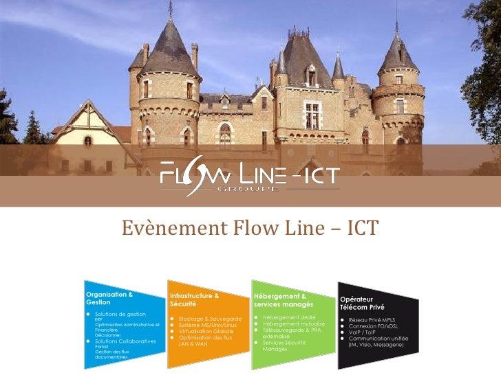 Evènement Flow Line – ICT