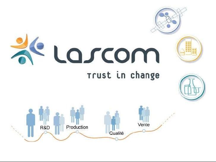 Lascom, des solutions métiers évolutives!<br />