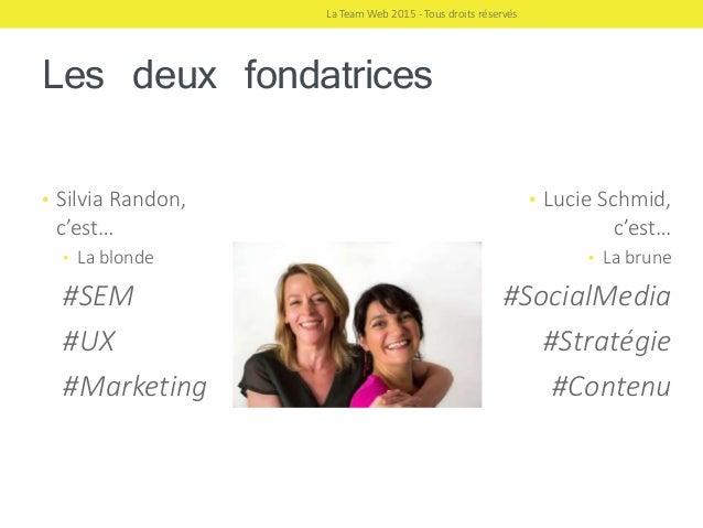 Offres La Team Web, agence webmarketing et communication digitale Slide 3