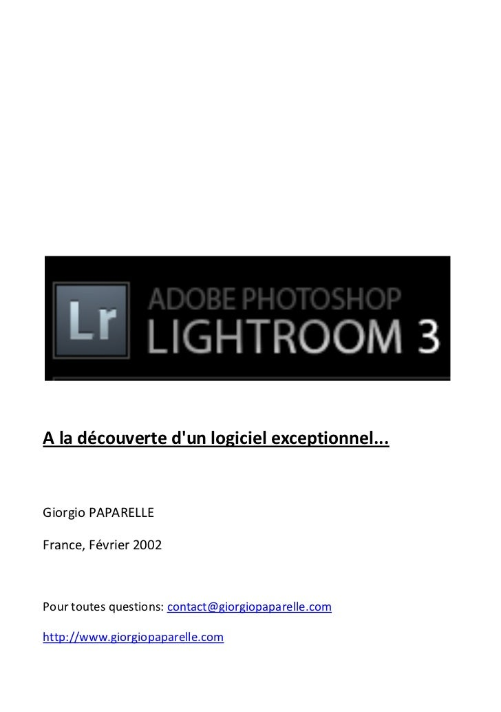 A la découverte dun logiciel exceptionnel...Giorgio PAPARELLEFrance, Février 2002Pour toutes questions: contact@giorgiopap...