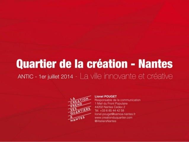 Quartier de la création - Nantes