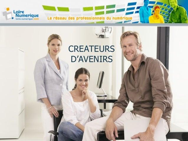 CREATEURS D'AVENIRS