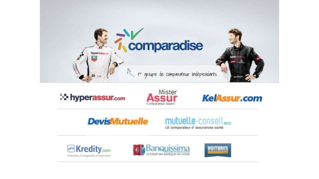 Misterassur  Comparadise est Leader sur les  produits à travers Misterassur  • 12 000 comparaisons mensuelles  • 10 assure...