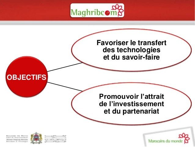 Présentation maghribcom.gov.ma  Slide 3