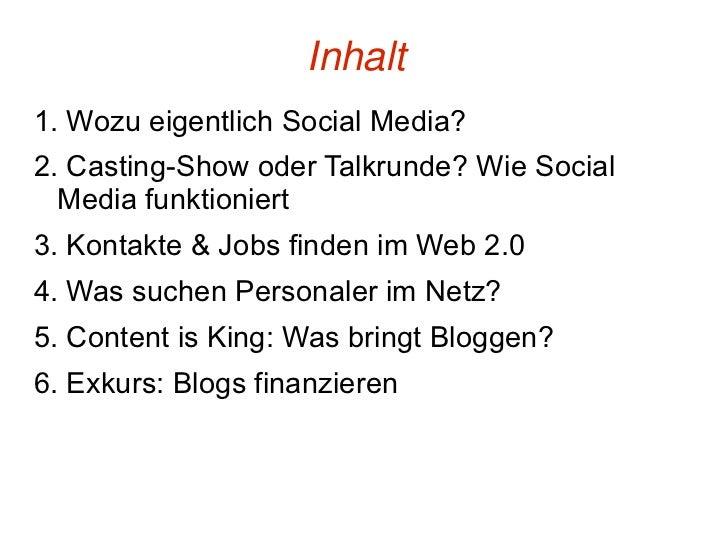 Jobsuche, Networking & Selbstvermarktung mit Social Media  Universität Marburg Slide 2