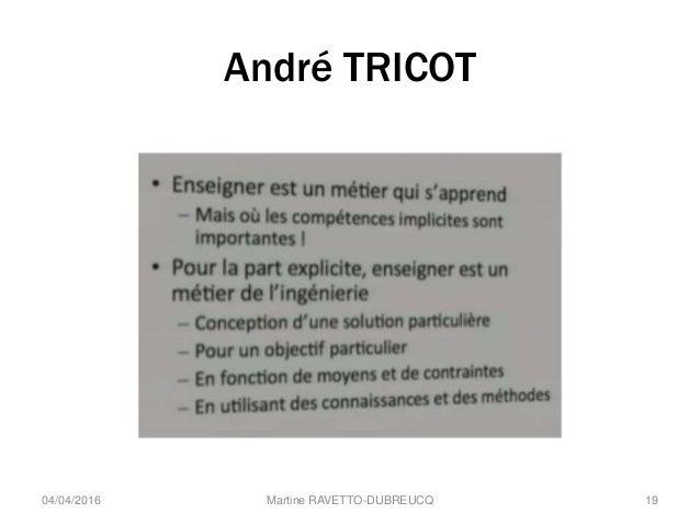 André TRICOT Martine RAVETTO-DUBREUCQ 1904/04/2016