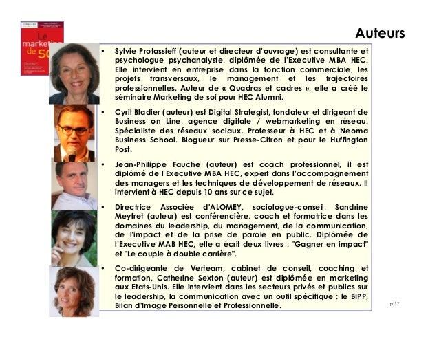 Auteurs  p 37  • Sylvie Protassieff (auteur et directeur d'ouvrage) est consultante et  psychologue psychanalyste, diplômé...