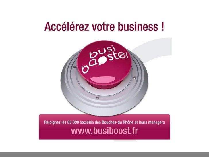 Les atouts de Busiboost pour les entreprisesUn outil de réseau de proximité 100% gratuit et 100% business:Mise en contac...
