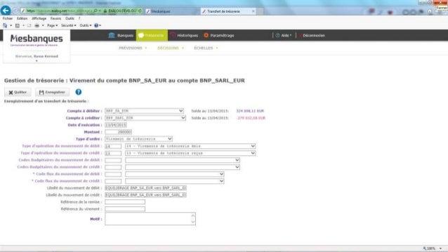 Vous pourrez en outre y paramétrer l'interface avec votre logiciel de comptabilité