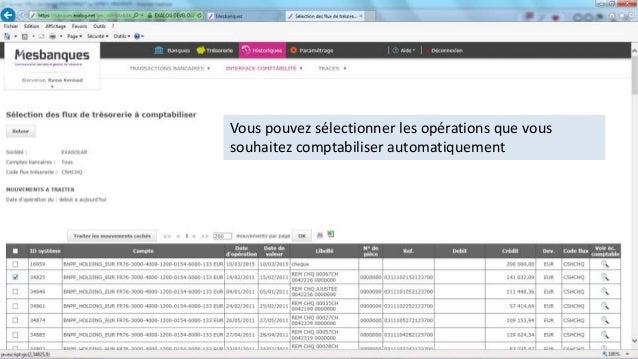 Présentation de Mesbanques.net par Finopsys