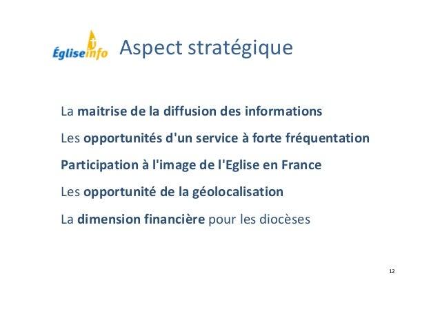 12 Lamaitrisedeladiffusiondesinformations Lesopportunitésd'unserviceàfortefréquentation Participationàl'imag...