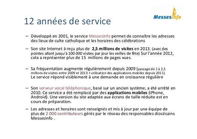 MessesInfo présentation Tisserands 2014 Slide 2