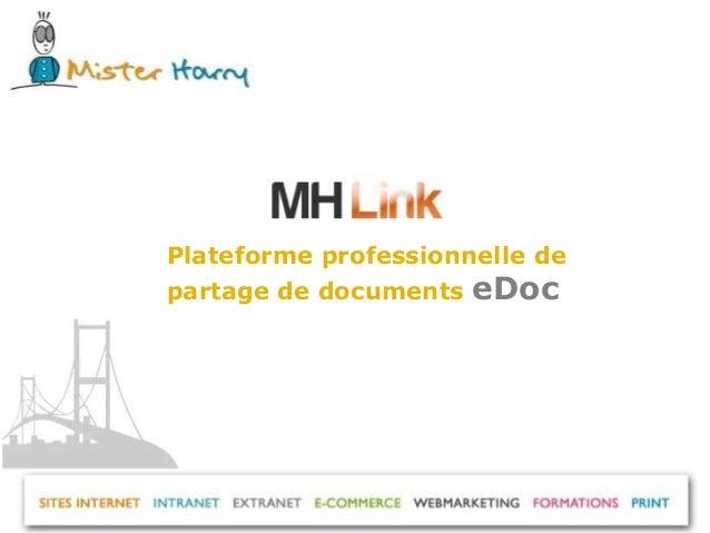 Présentation mh link e doc Slide 2